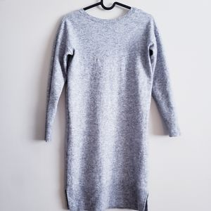 WILFRED   Light Gray Sweaterdress